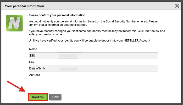 NETELLER Registration USA Residents
