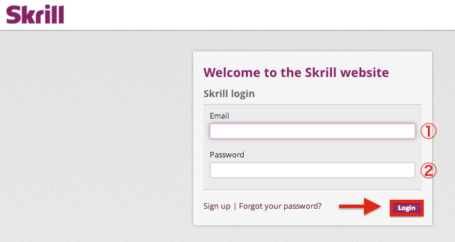 skrill moneybookers login