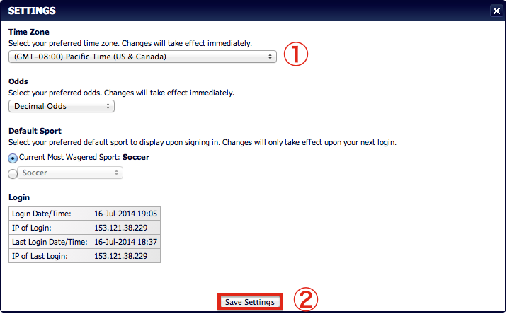 how to change view settings in writer 2013