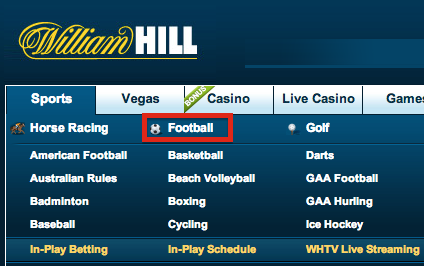 William Hill Football (Soccer)