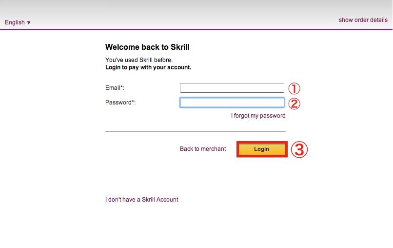 NetBet Skrill Deposit