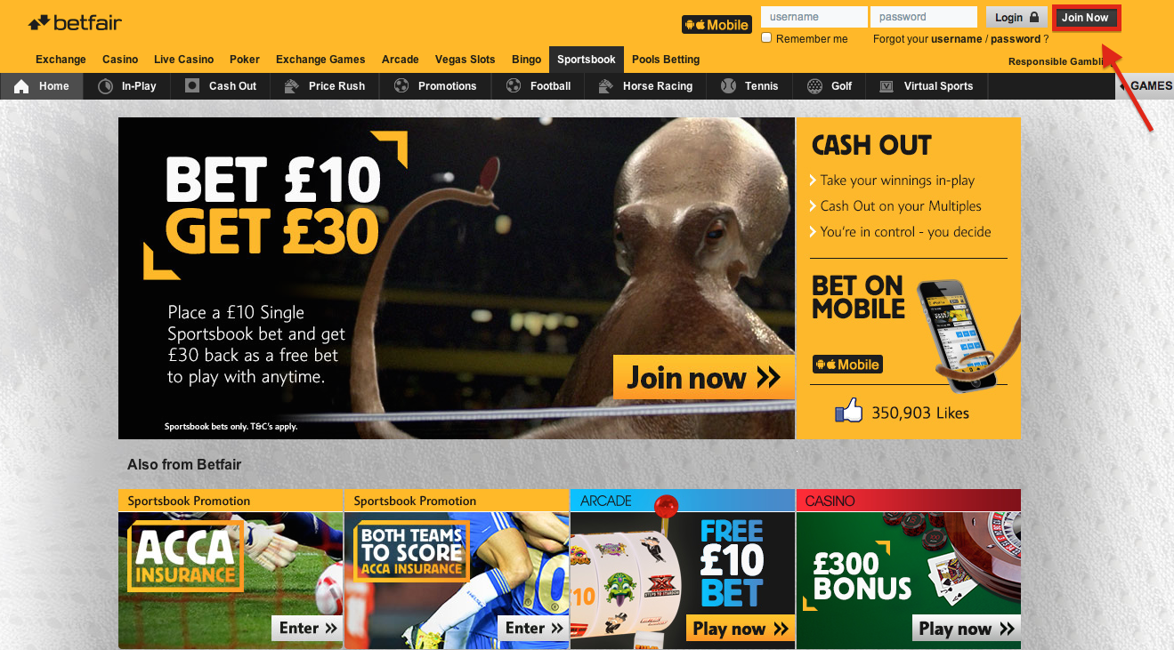 betfair open account