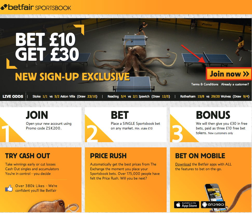 open betfair account