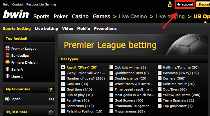 Bwin My Account