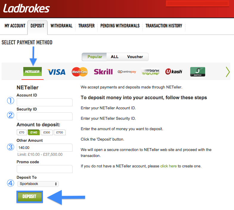 neteller transfer to bank account