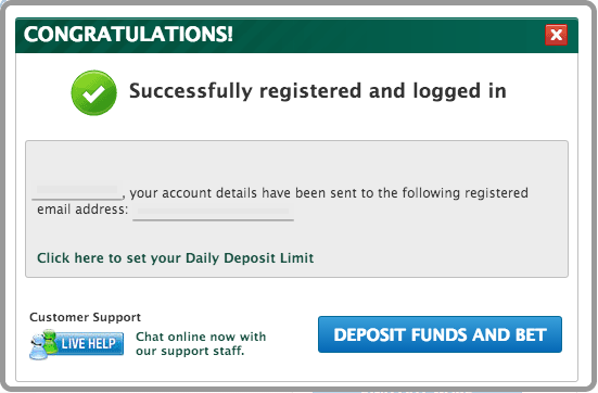 Paddy Power Registration