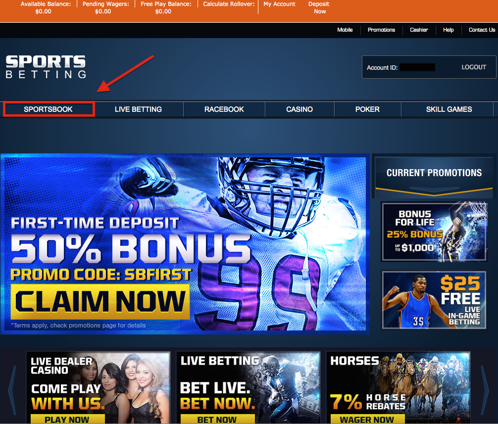 SportsBetting Sportsbook