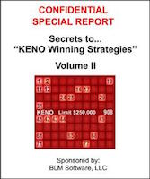 keno tricks to win
