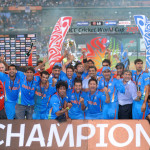 2011 Cricket World Cup Champions - India