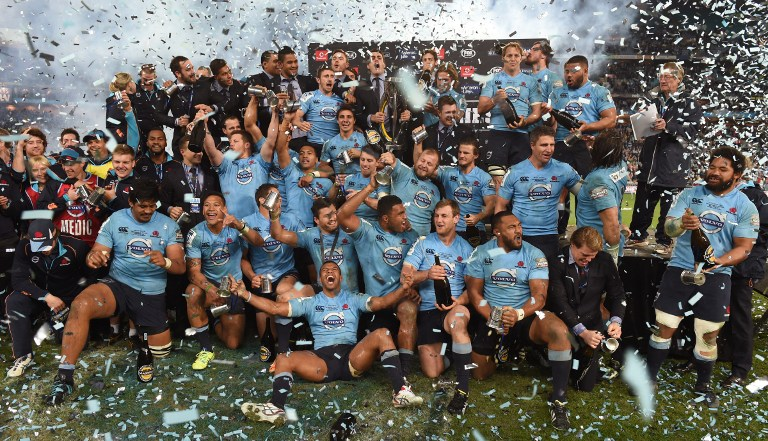 2014 Super Rugby Champions - New South Wales Waratahs
