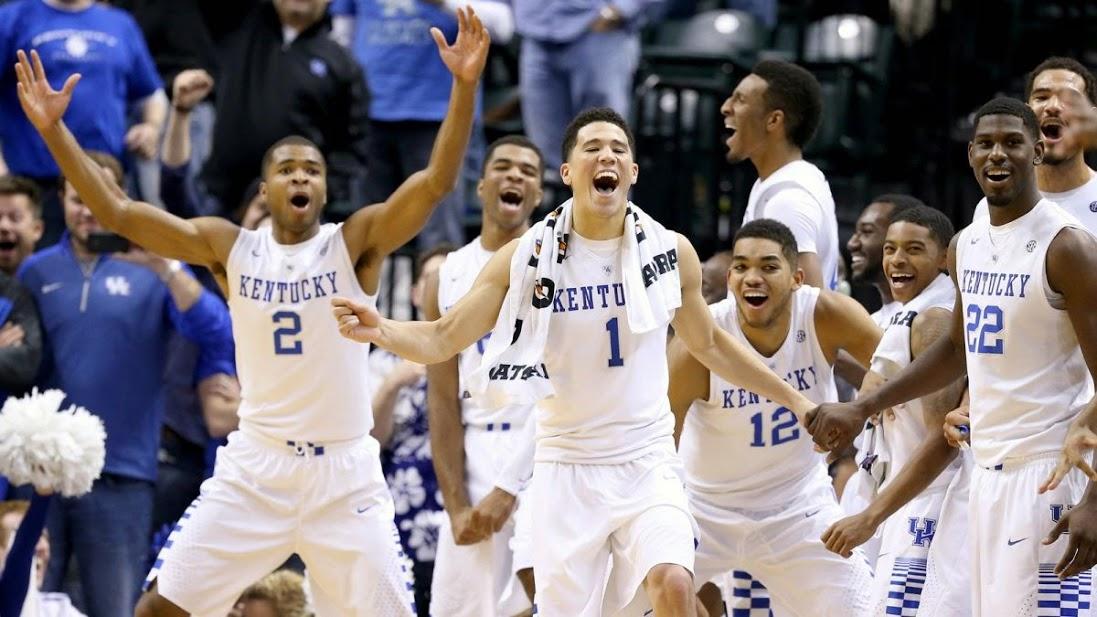Kentucky Basketball 2014 Team 【Pinnacle Sports】2...