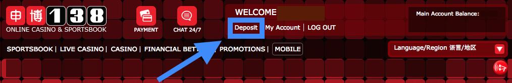 138.com Deposit