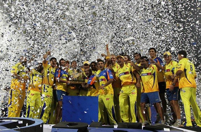 2011 Indian Premier League Winners - Chennai Super Kings
