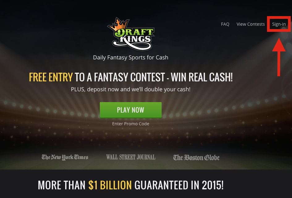 DraftKings Login