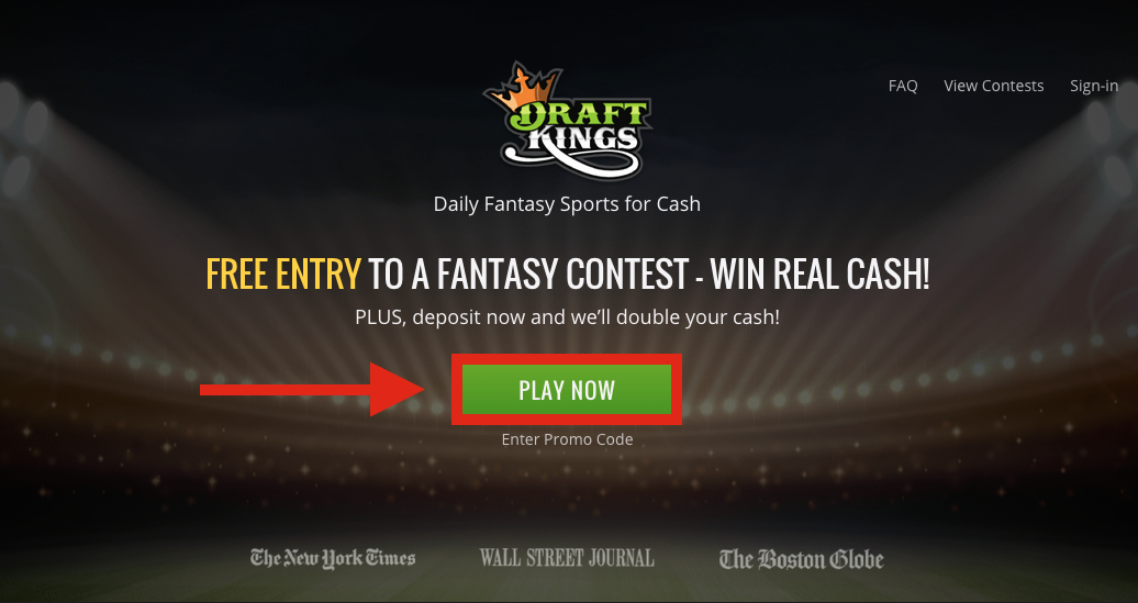DraftKings Registration