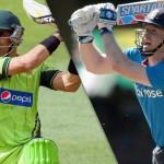 Pakistan vs. England Cricket Match