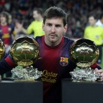 Lionel Messi His Ballons d'Or