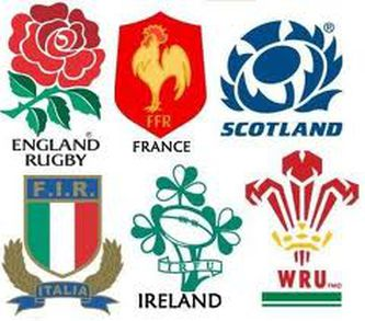 Six Nations Team Logos