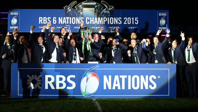 2015 Six Nations Champions - Ireland