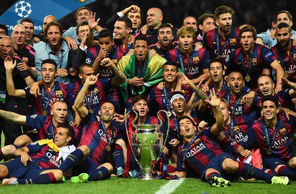 Juara Liga Champion UEFA 2015 - Barcelona