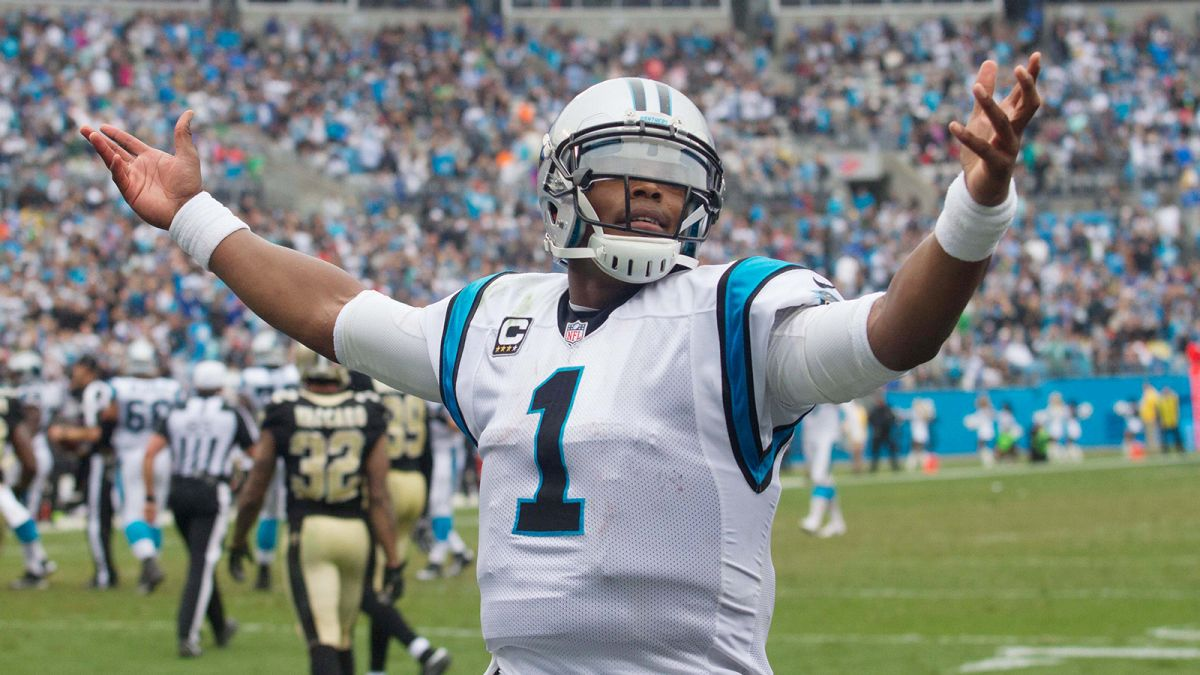 Quarterback Carolina Panthers Cam Newton
