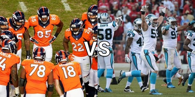 Denver Broncos vs. Carolina Panthers