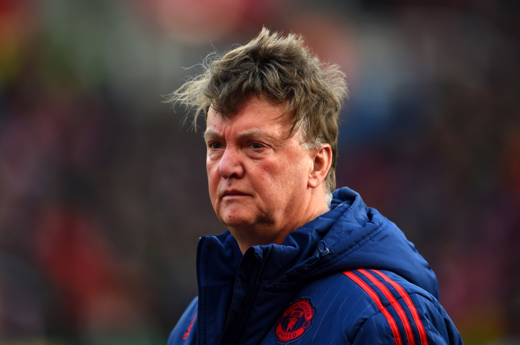 Manajer Manchester United - Louis van Gaal