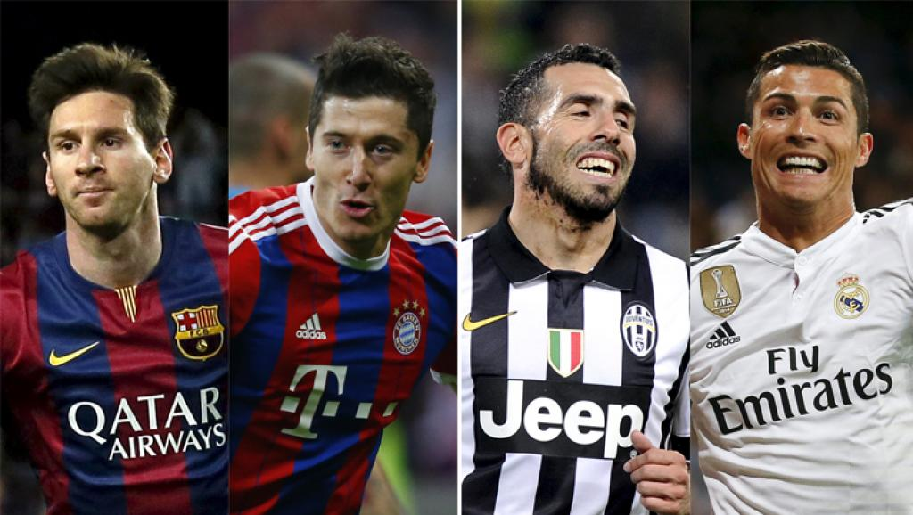 Real Madrid, Barcelona, Juventus, dan Bayern Munich