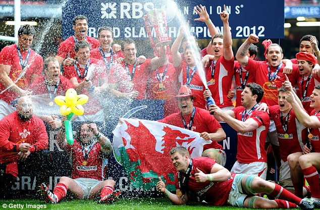 Wales Winning Grand Slam in 2012