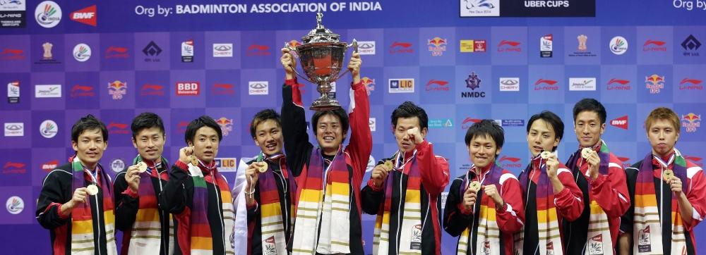2014 Thomas Cup Champions - Japan