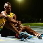 Jamaican Sprinter Usain Bolt