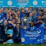 2015-16 Premier League Champions - Leicester City Football Team