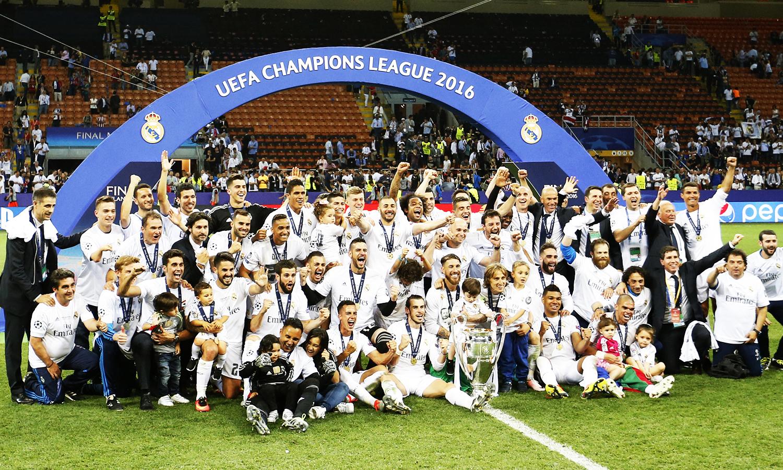 Juara Liga Champion 2015-16 - Real Madrid