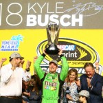 2015 NASCAR Sprint Cup Series Champion Kyle Busch