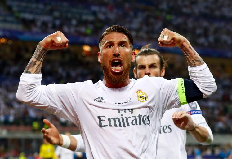 Pesepak Bola Real Madrid Sergio Ramos