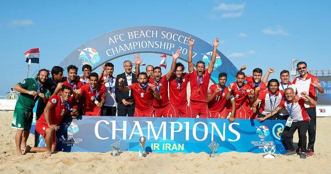 2017 AFC Beach Soccer Champions - Iran