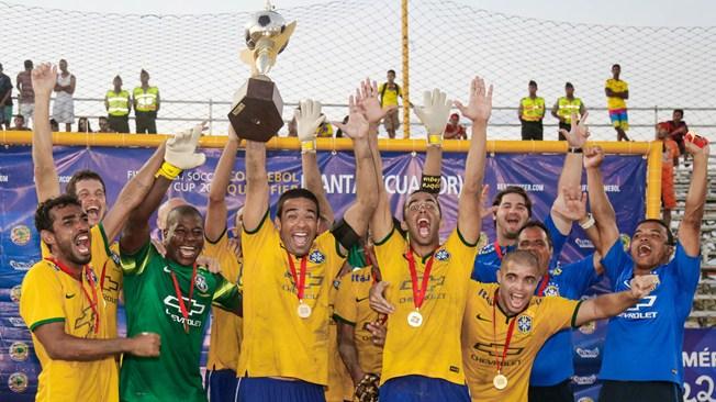 Brazil Beach Soccer Team