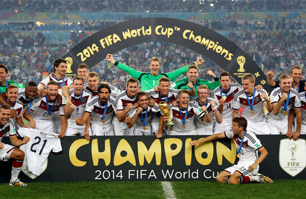 2014 FIFA World Cup Champions - Germany