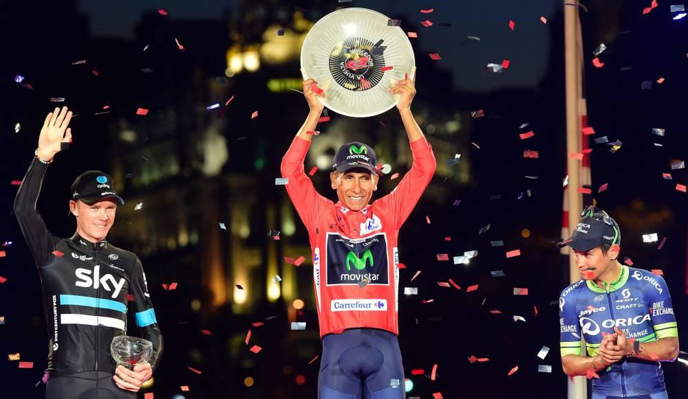 2016 Vuelta a España Winner Nairo Quintana
