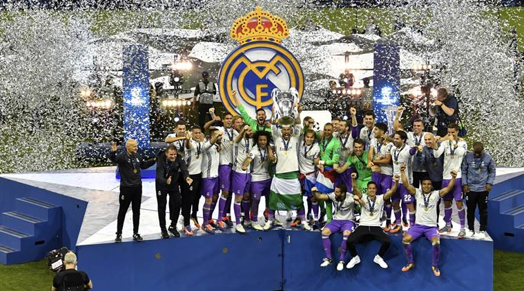 2016-17 UEFA Champions League Champions - Real Madrid