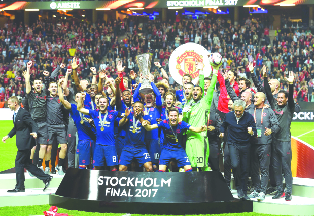 2016-17 UEFA Europa League Champions - Manchester United