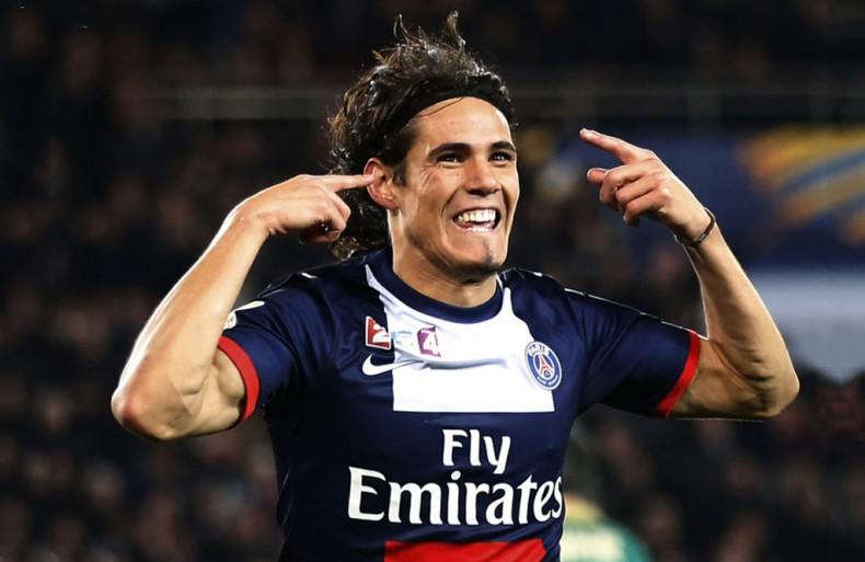 Paris Saint-Germain Footballer Edinson Cavani