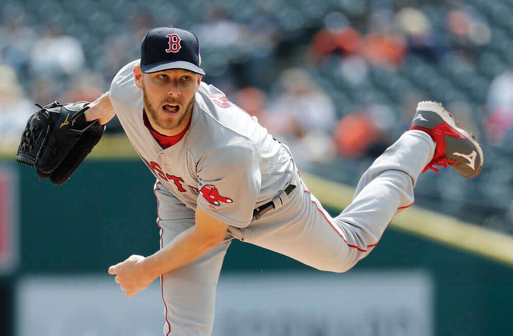 紅襪隊投手克里斯.塞爾