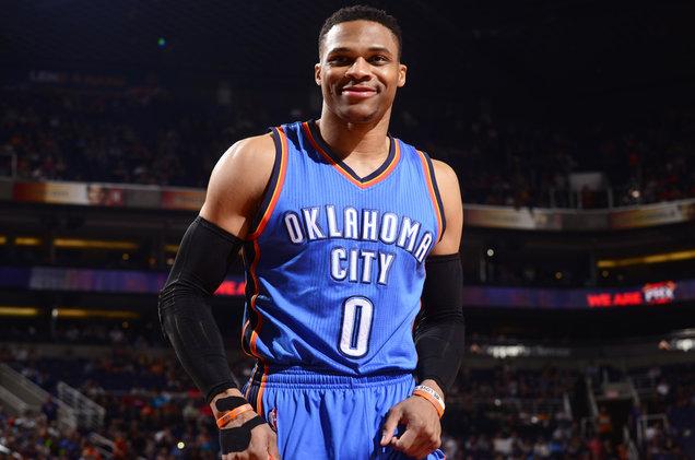 Russel Westbrook Pemain Oklahoma City Thunder