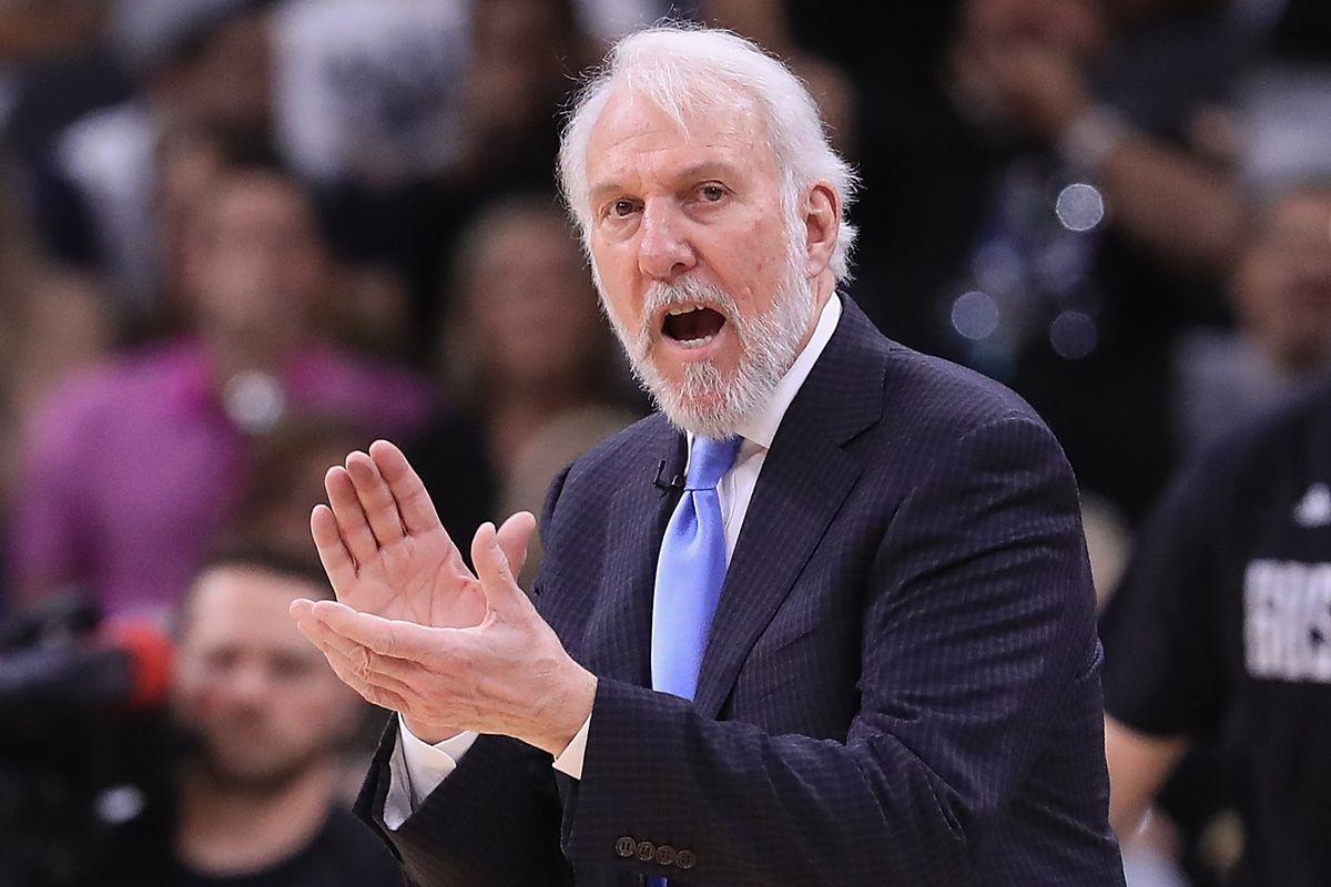 Gregg Popovich Pelatih Kepala San Antonio Spurs