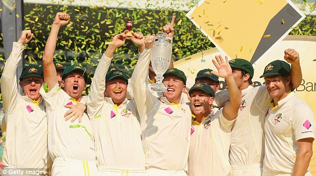 Ashes 2014 Winners - Australia