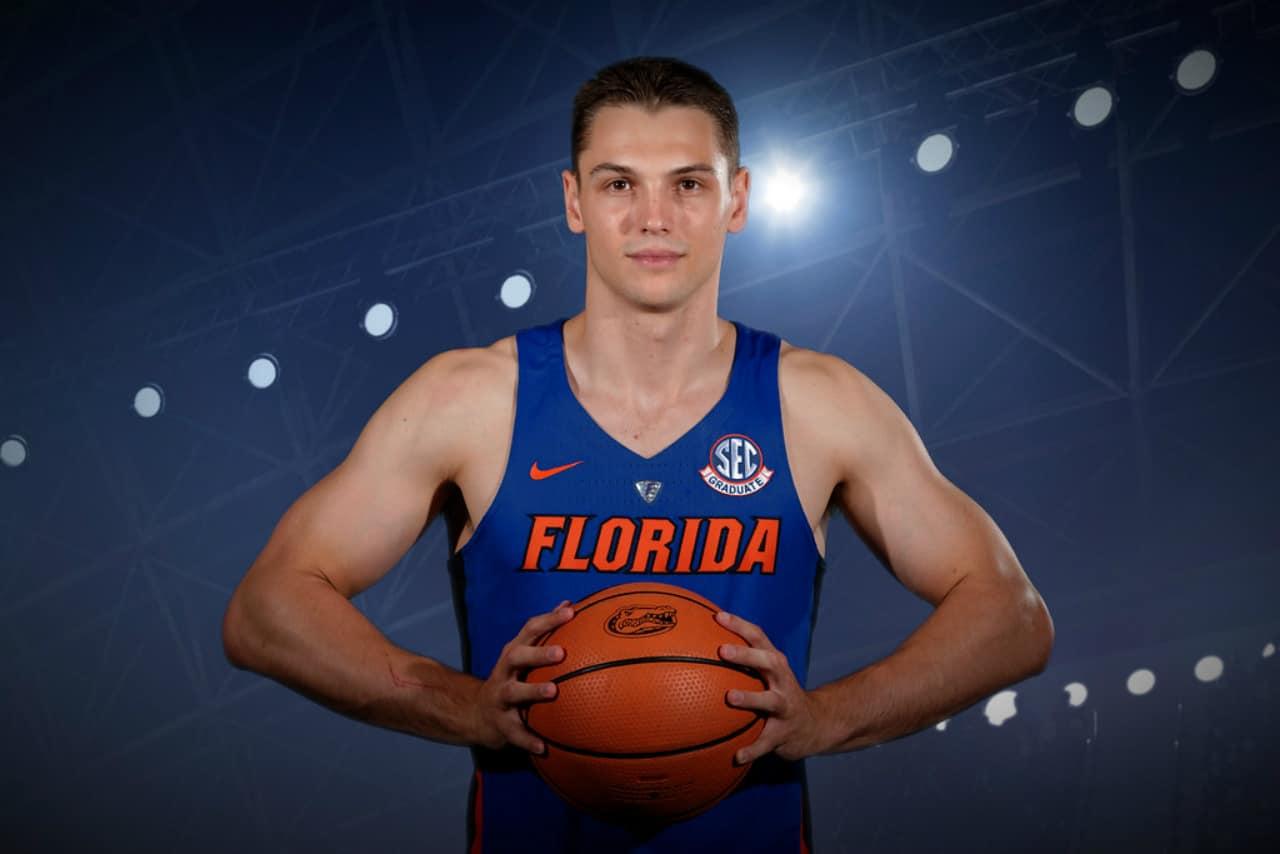 Florida Gators Player Egor Koulechov