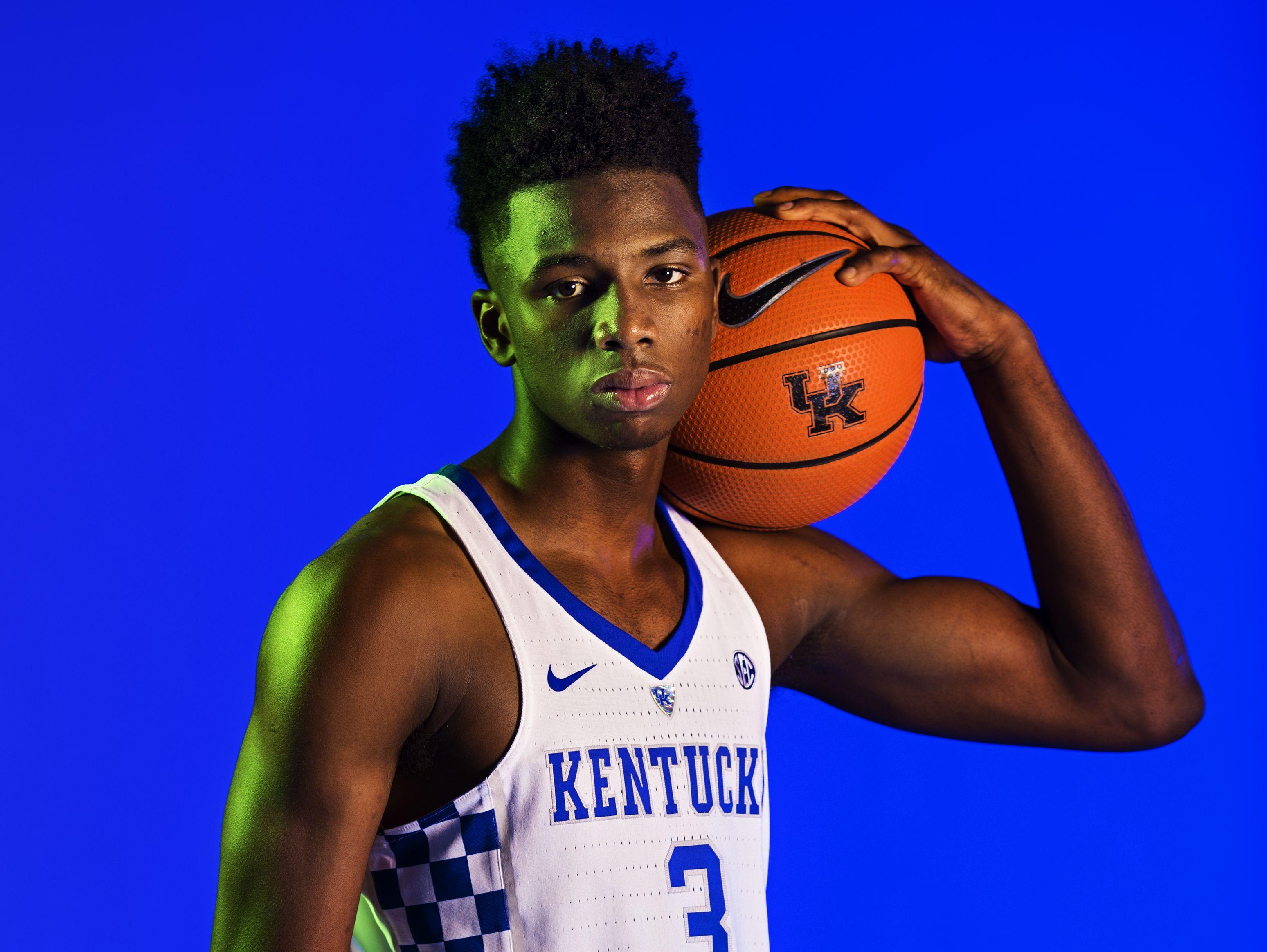 Kentucky Wildcats Player Hamidou Diallo