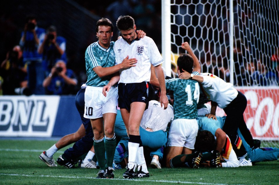 England vs. West Germany 1990