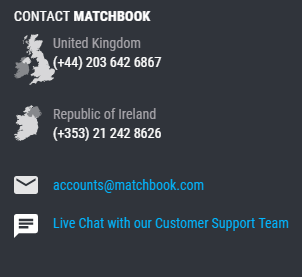 Matchbook Help Center